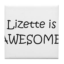 Cool Lizette Tile Coaster