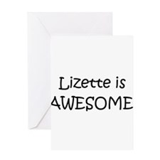 Lizette Greeting Card