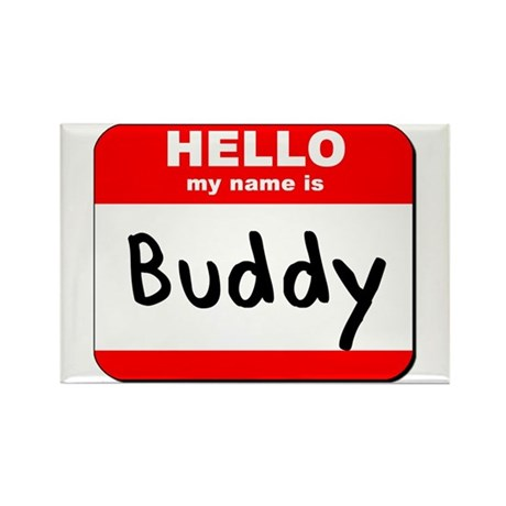 Hello my name is Buddy Rectangle Magnet (10 pack)