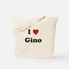 I love Gino Tote Bag