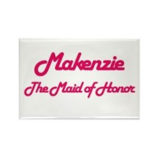 Makenzie - Maid of Honor Rectangle Magnet