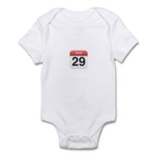 Apple iPhone Calendar June 29 Infant Bodysuit
