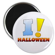 I ! Halloween Magnet