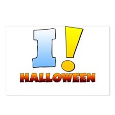 I ! Halloween Postcards (Package of 8)