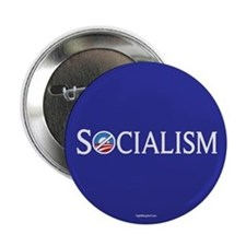 "Socialism - Anti-Obama 2.25"" Button (10 pack)"