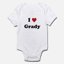 I love Grady Infant Bodysuit