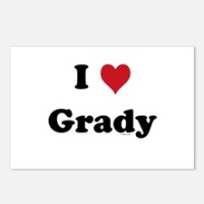 I love Grady Postcards (Package of 8)