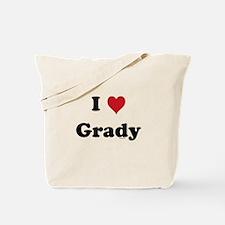 I love Grady Tote Bag