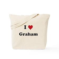 I love Graham Tote Bag