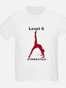 Gymnastics T-Shirt - Level 6