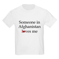Someone in Afghanistan... Kids T-Shirt