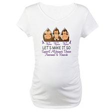 See Speak Hear No Alzheimers 2 Shirt