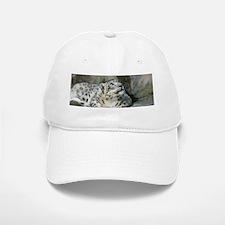 Snow Leopard B005 Baseball Baseball Cap
