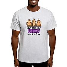 See Speak Hear No Alzheimers 3 T-Shirt