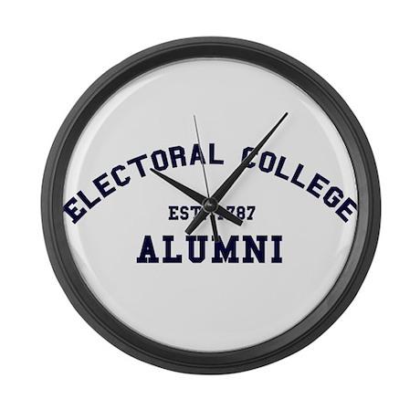 """Electoral College"" Alumni Large Wall Clock"
