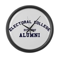 """Electoral College"" Alumni Large Wall Clock"