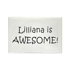 Funny Lilliana Rectangle Magnet