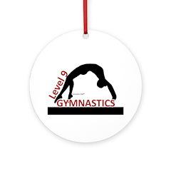 Gymnastics Ornament - Level 9