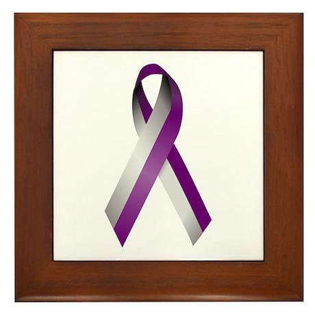 """""""Ribbon"""" Framed Tile"""