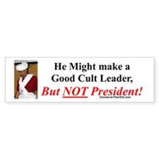 """Cult Leader?"" Bumper Sticker (10 pk)"