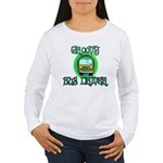Groovy Bus Driver Women's Long Sleeve T-Shirt