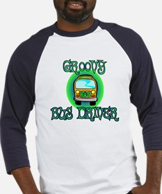 Groovy Bus Driver Baseball Jersey
