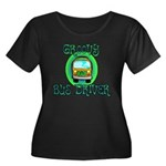 Groovy Bus Driver Women's Plus Size Scoop Neck Dar