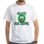 Groovy Bus Driver White T-Shirt
