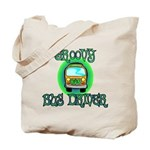 Groovy Bus Driver Tote Bag
