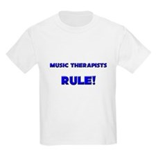 Music Therapists Rule! T-Shirt