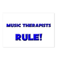 Music Therapists Rule! Postcards (Package of 8)