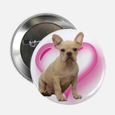 "French Bulldog puppy 2.25"" Button"