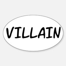 VILLAIN Decal