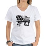 Stage Manager Women's V-Neck T-Shirt