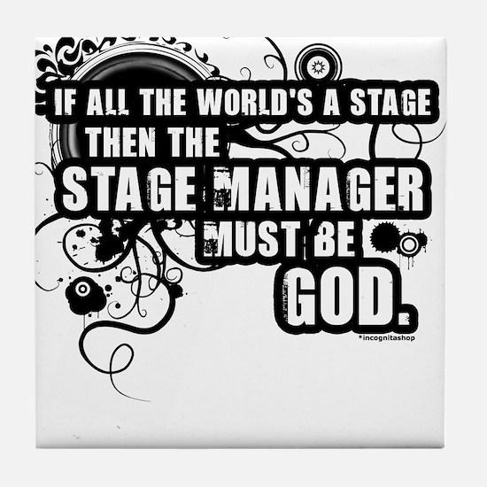 Stage Manager Tile Coaster