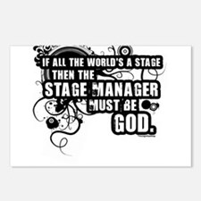 Stage Manager Postcards (Package of 8)