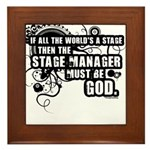 Stage Manager Framed Tile