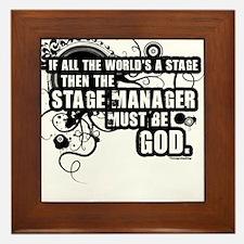 Stage Manager Framed Tile