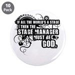 "Stage Manager 3.5"" Button (10 pack)"