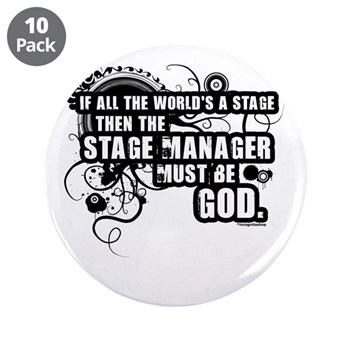 """Stage Manager 3.5"""" Button (10 pack)"""