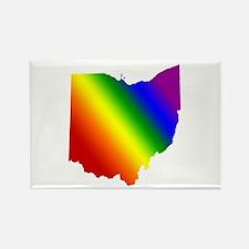 Ohio Gay Pride Rectangle Magnet