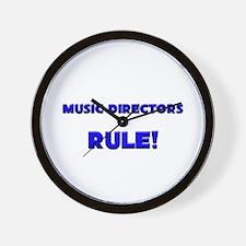 Music Directors Rule! Wall Clock