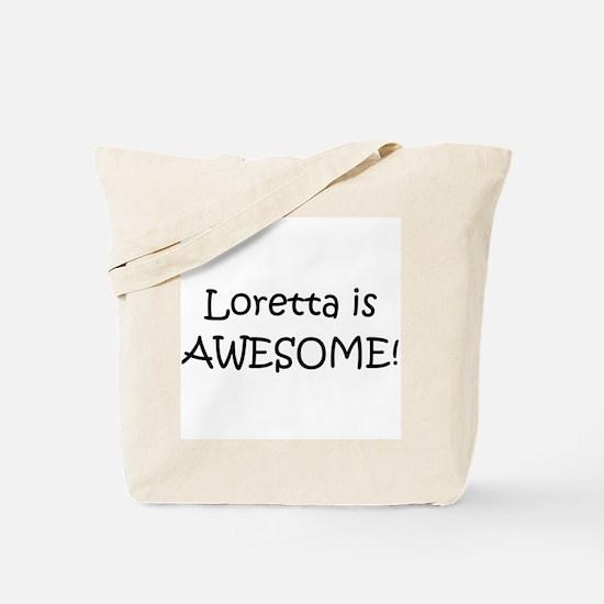 Unique I love loretta Tote Bag
