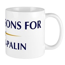 STONEMASONS for McCain-Palin Mug