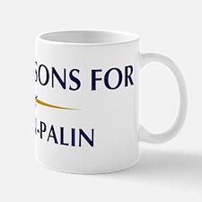 STONEMASONS for McCain-Palin Mug