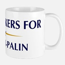 UNDERTAKERS for McCain-Palin Mug