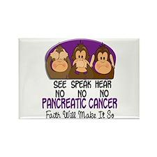 See Speak Hear No Pancreatic Cancer 1 Rectangle Ma