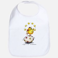 Juggling Chick Bib by Sophie Turrel