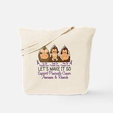 See Speak Hear No Pancreatic Cancer 2 Tote Bag