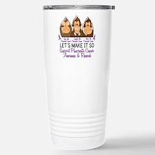 See Speak Hear No Pancreatic Cancer 2 Travel Mug